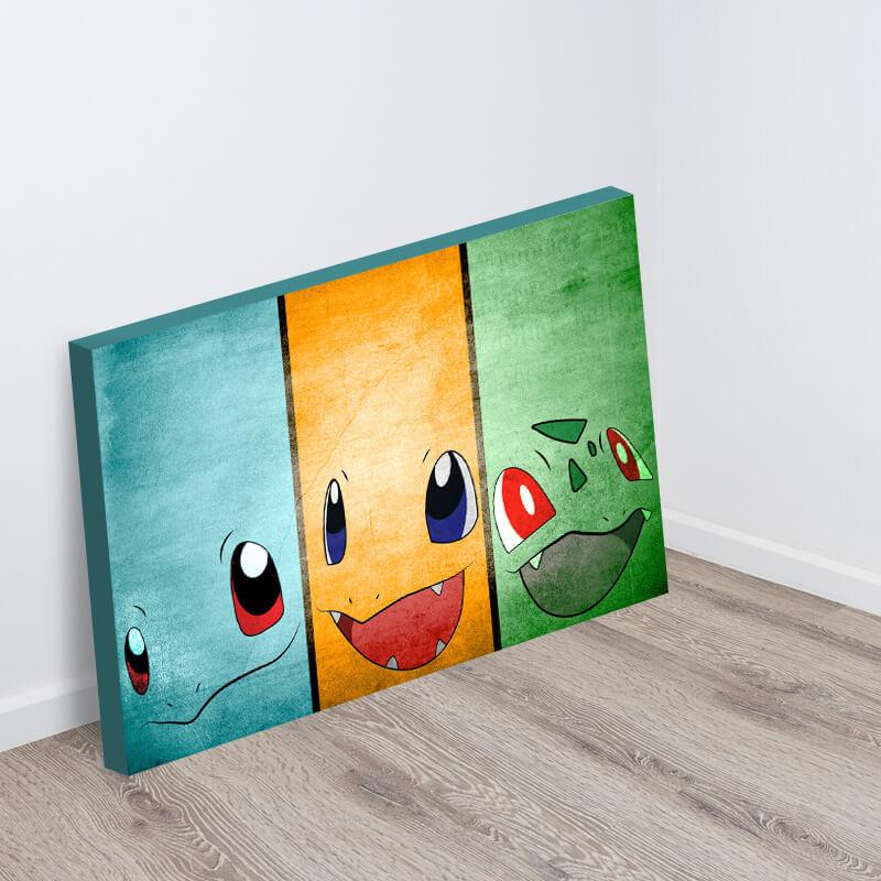 Original Starter Pokemon & Original Starter Pokemon - Canvas Art Depot